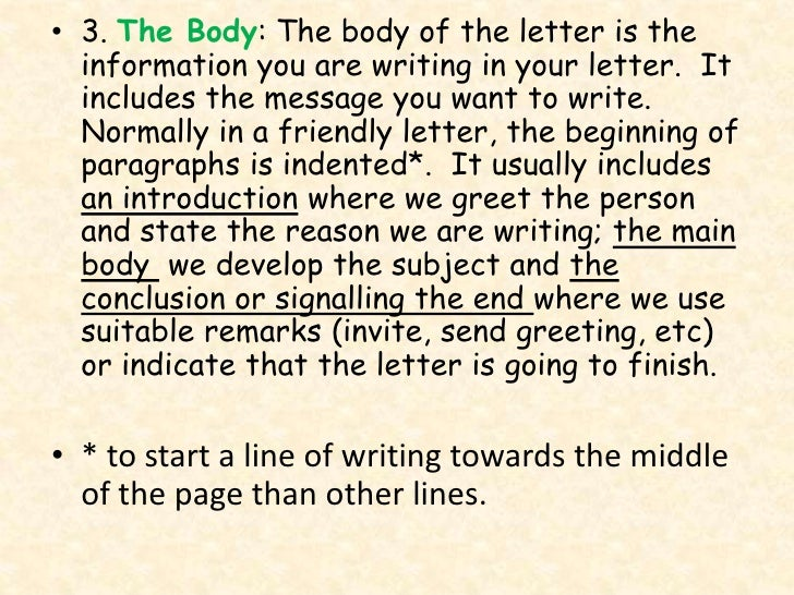 how to start an informal letter in russian
