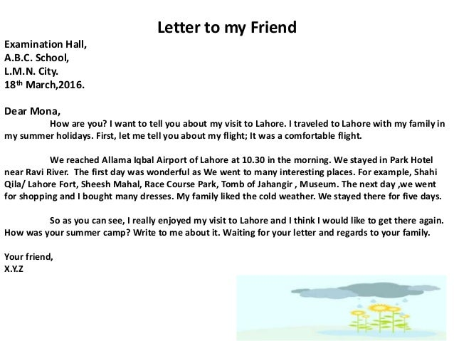 IELTS Letter: Sample Answer