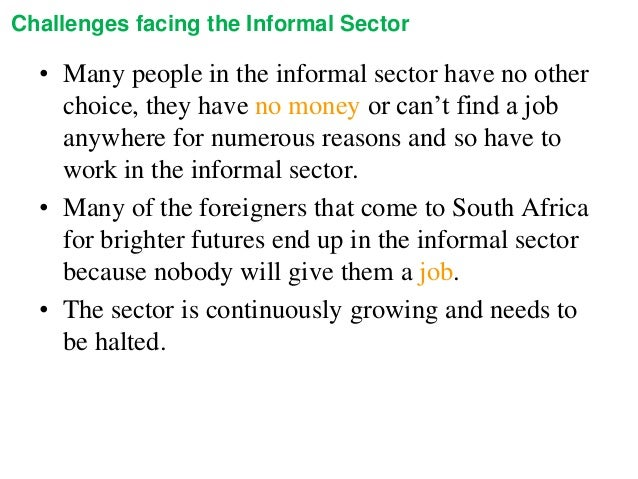 about informal sector Could the informal economy provide the way forward for the green growth  agenda ahead of an iied event on 25 february, mao amis looks at.