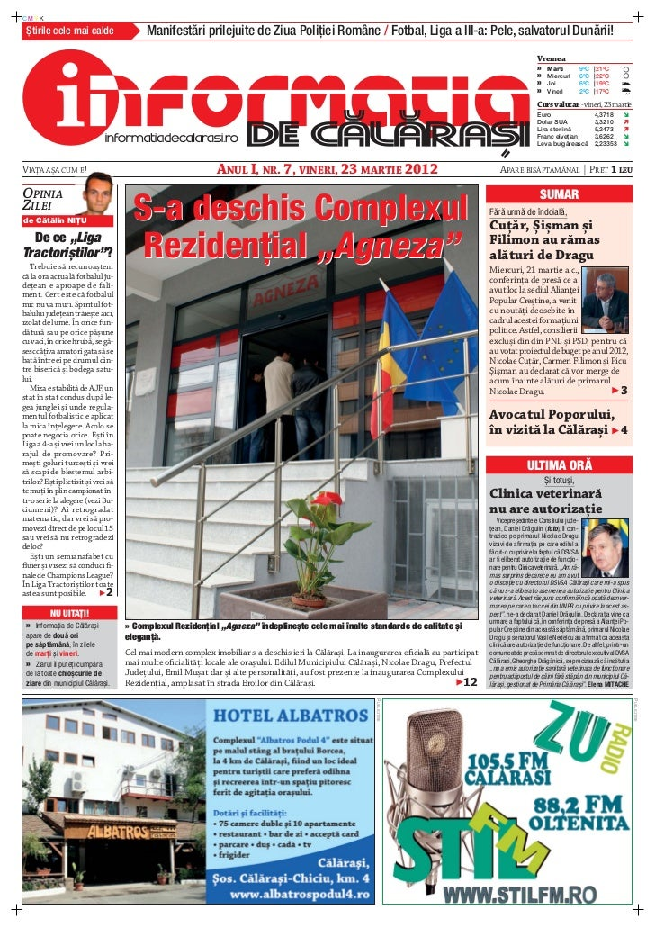 CMYK Știrile cele mai calde                   Manifestări prilejuite de Ziua Poliţiei Române / Fotbal, Liga a III-a: Pele,...