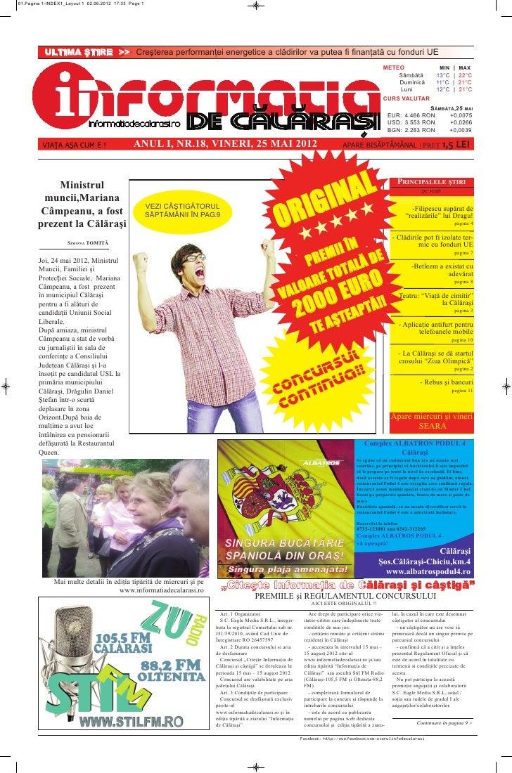 01.Pagina1-INDEX1_Layout102.06.201217:33Page1           ULTIMAŞTIRE>> Creştereaperformanţeienergeticeaclăd...
