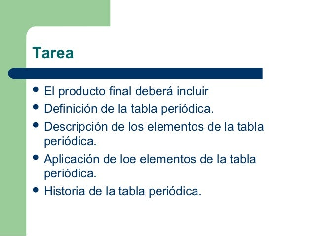 Tabla periodica gpo101 3 tarea elproducto final deber incluir definicin de la tabla peridica urtaz Images