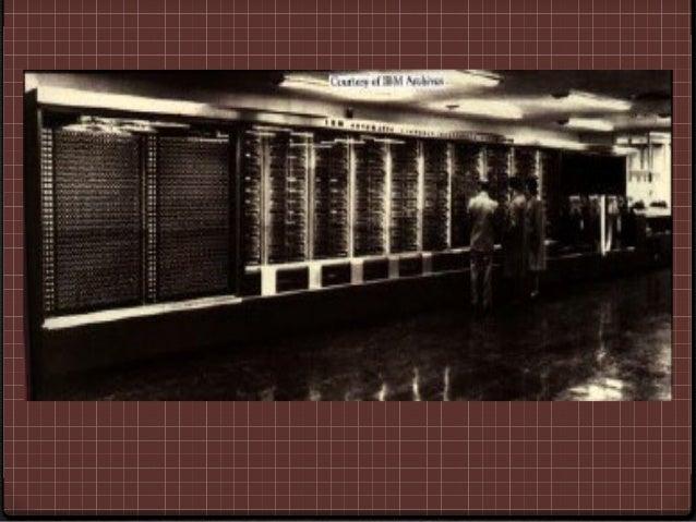 ENIAC.0 (Electronic Numerical Integrator And Calculator) La    primer computadora electrónica, el equipo que    la constru...