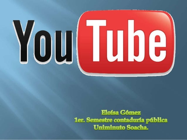 YouTube Inc. fue fundador Chad         Esta historia ha sido consideradaHurley, Steve Chen y Jawed             una versión...