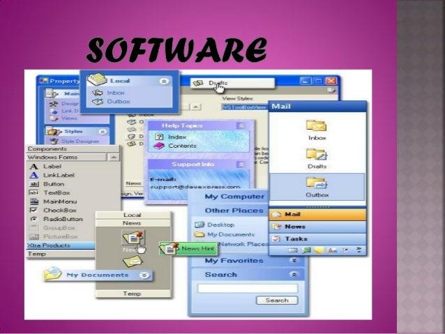 TIPOS DE SOFTWARESoftware del sistema: conjunto deprogramas que administran los recursos dela computadora.Ejemplos: unida...