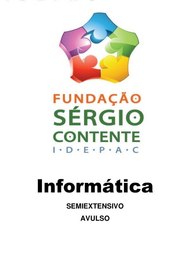 Informática SEMIEXTENSIVO AVULSO