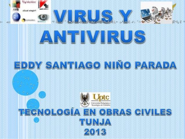 VIRUS Y ANTIVIRUS FUNCIONES ANTIVIRUS TIPOS DE VIRUS VIDEO ANTIVIRUS TABLA ANTIVIRUS