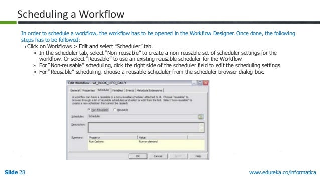 Designing And Monitoring In Informatica PowerCenter