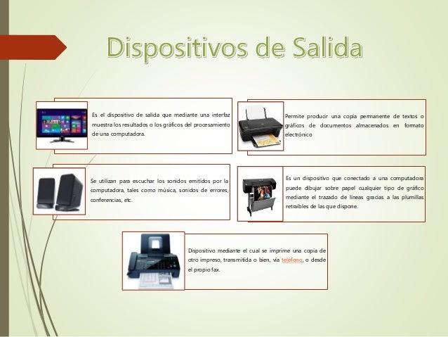 Concepto de informatica de la computadora programas for Funcion de salida
