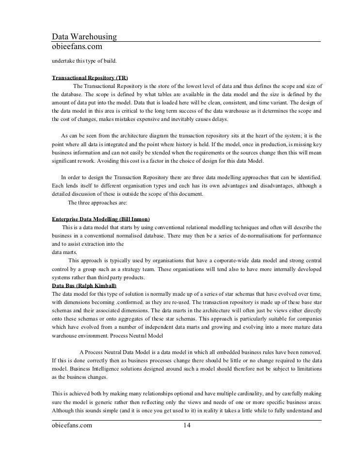 Informatica and datawarehouse Material