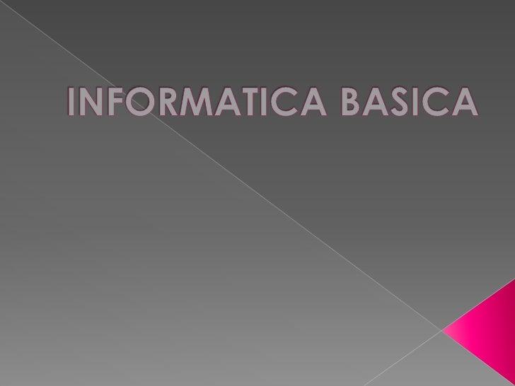    El ordenador es una máquina capaz de    ejecutar todo tipo de operaciones con la    información.   El ordenador está ...