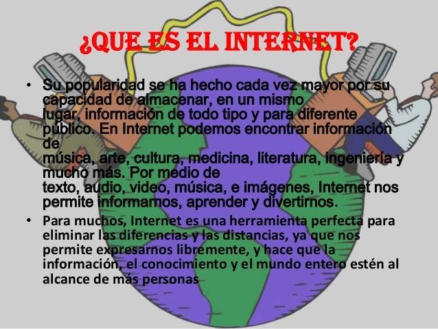 Informatica EL INTERNET Slide 3