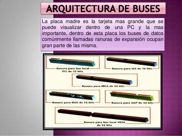 Informatica Grupo 6 Bus Tipos De Buses Arquitectura
