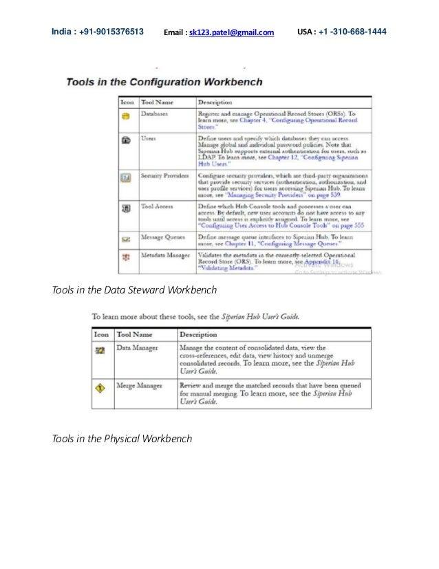 Informatica mdm free tutorials