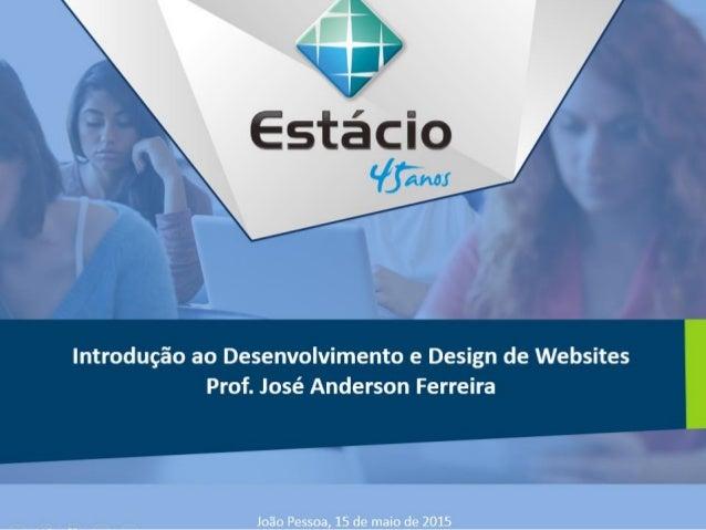 REGISTRANDO UM SITE E INTRODUÇÃO AO HTML