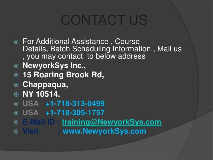 informatica online training and placement by newyorksys com