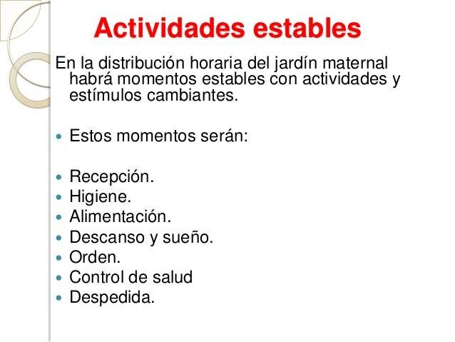 El jardin maternal for Actividades para jardin maternal