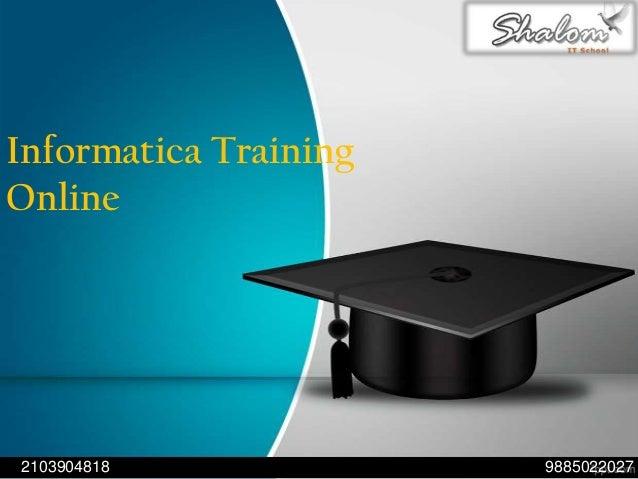 Informatica Training Online 98850220272103904818