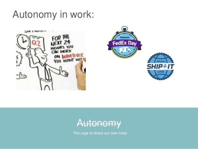 autonomy in workplace Autonomy definition, independence or freedom, as of the will or one's actions: the autonomy of the individual see more.