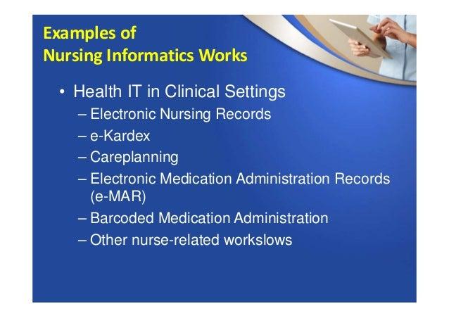 Informatics & Technology in Nursing