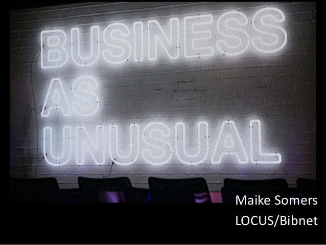 Maike Somers LOCUS/Bibnet