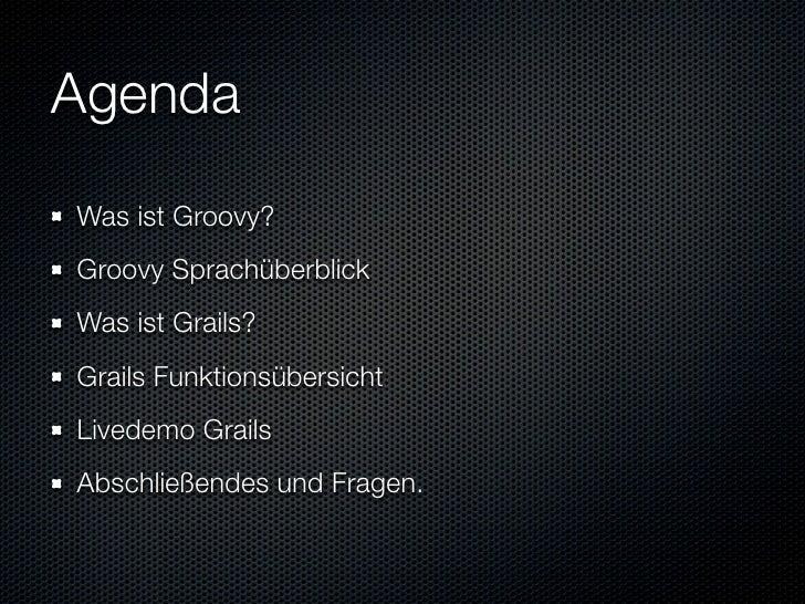 Informatik Seminar Groovy Und Grails Slide 2