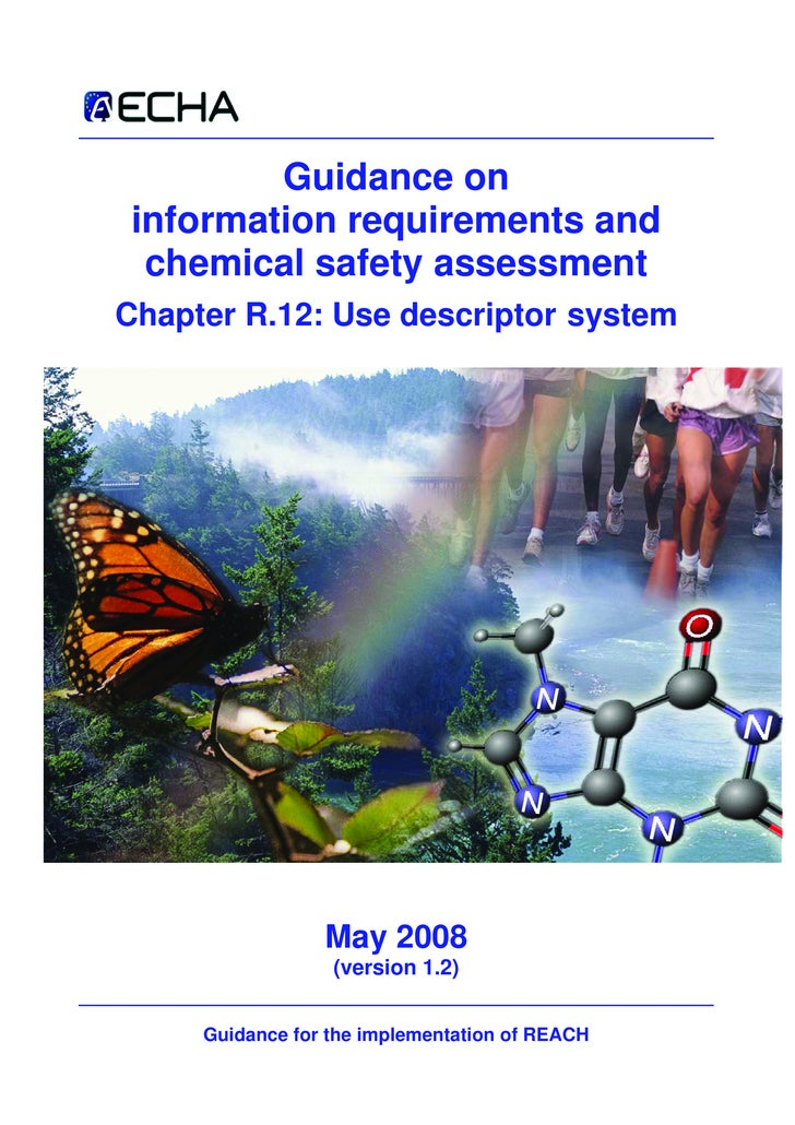 Guidance on  information requirements and   chemical safety assessment Chapter R.12: Use descriptor system                ...
