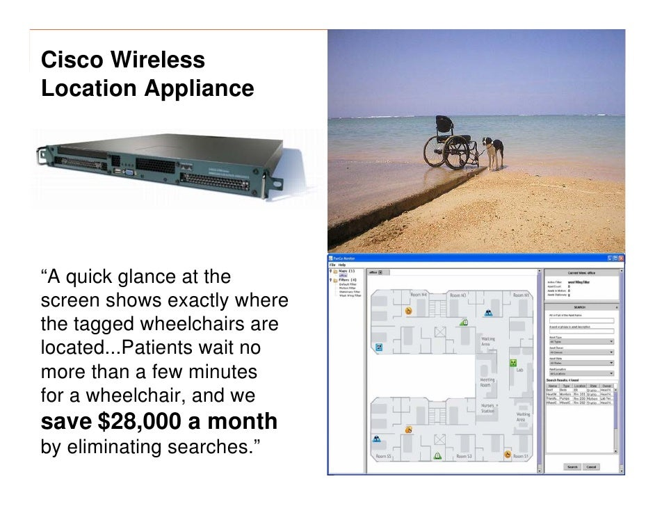 """morville@semanticstudios.com Cisco Wireless Location Appliance     """"A quick glance at the screen shows exactly where the t..."""