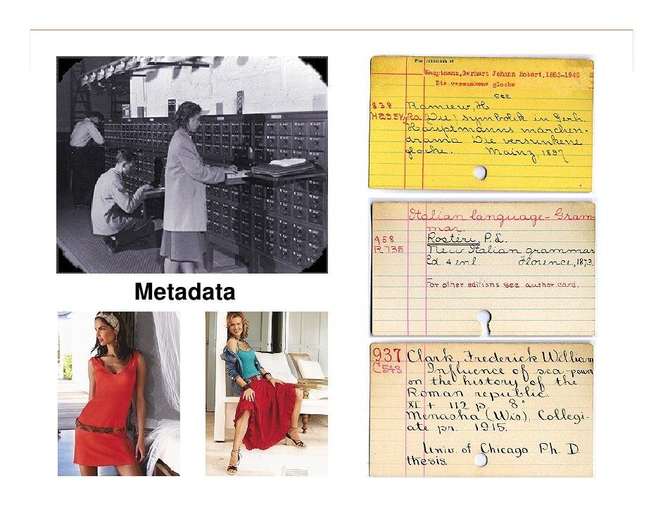 morville@semanticstudios.com       Metadata  Revenge of the    Librarians                                       25