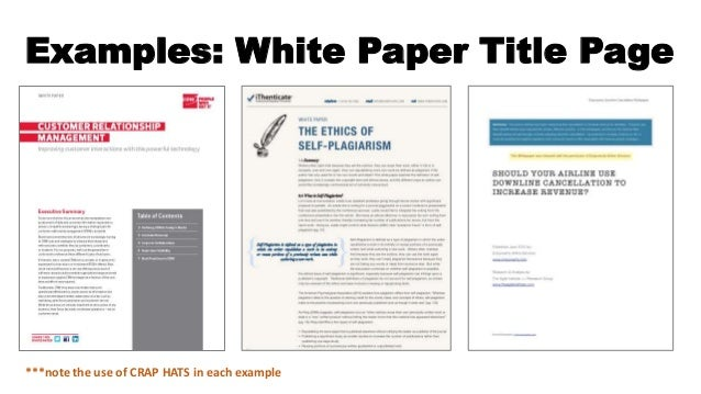 white papers examples