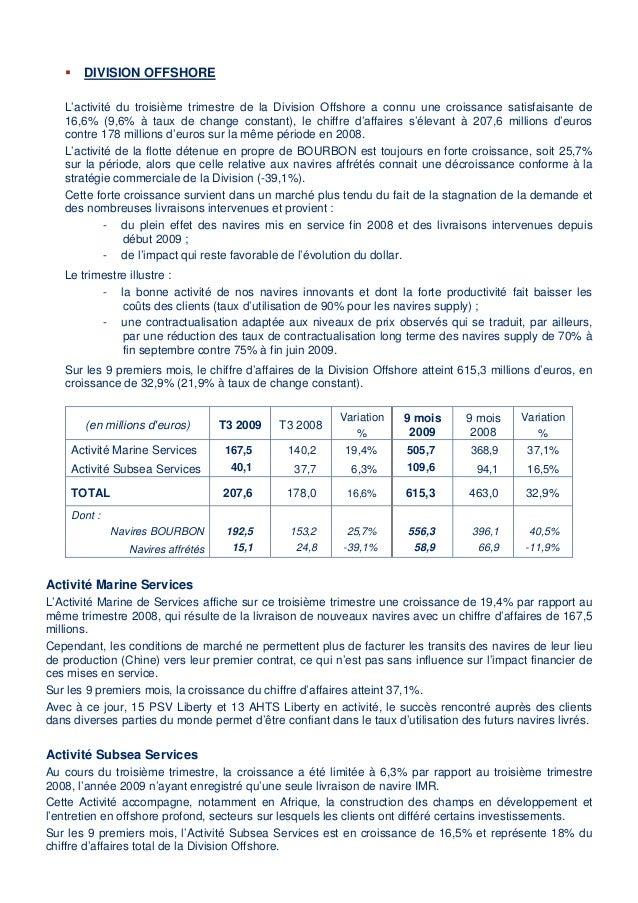Communiqué de Presse information financière trimestrielle Slide 2