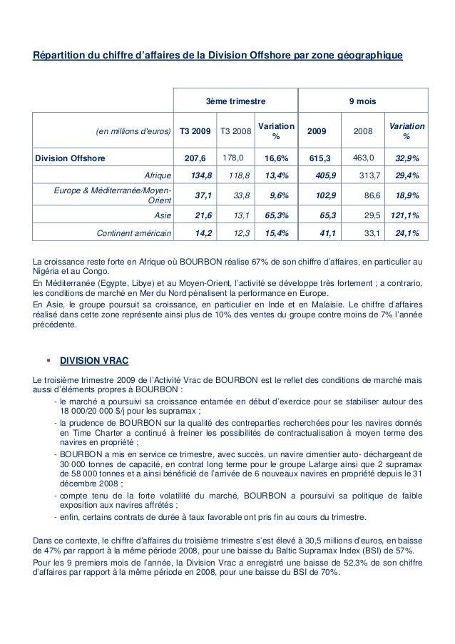 Communiqué de Presse information financière trimestrielle Slide 3