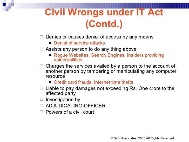 <ul><ul><li>Denies or causes denial of access by any means </li></ul></ul><ul><ul><ul><li>Denial of service attacks </li><...