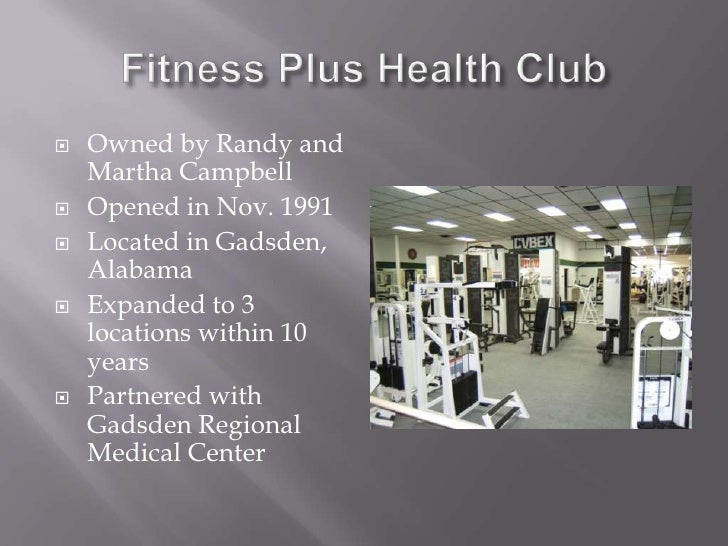 fitness plus case study