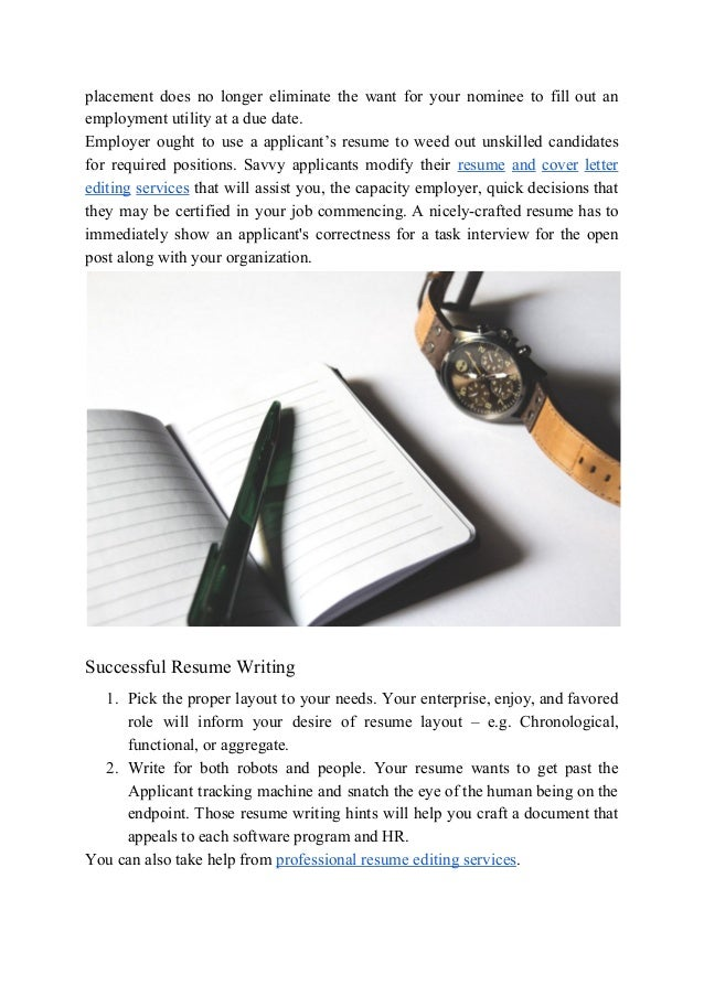 information about cheap resume editing services that