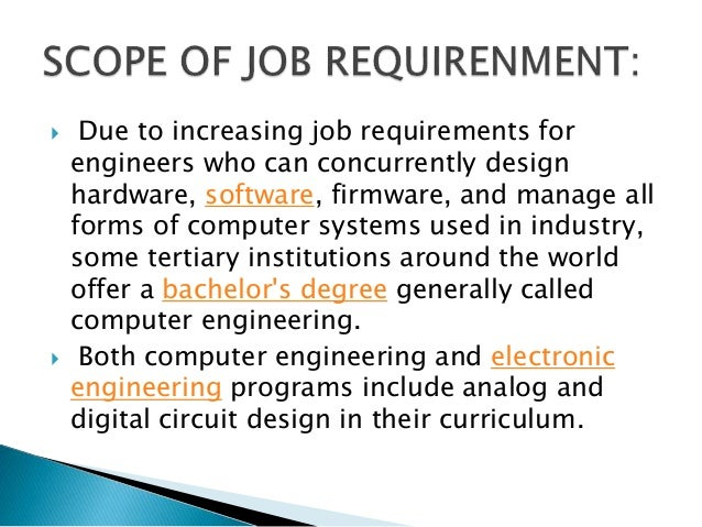 6.  Due To Increasing Job Requirements For Engineers ...