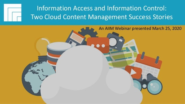 Underwritten by: #AIIMYour Digital Transformation Begins with Intelligent Information Management Webinar Title Presented D...