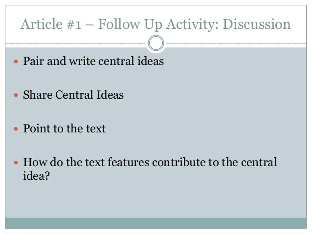 Integrating Reading and Writing Instruction Into Content-Area Classrooms