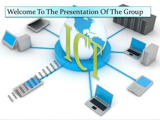 Information and communication technology:a class presentation