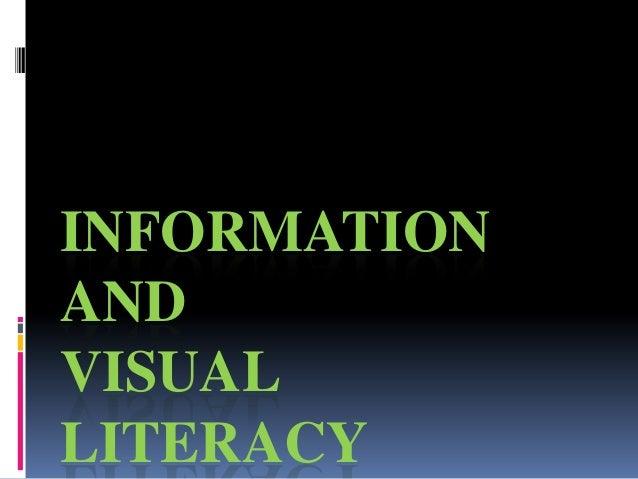 INFORMATIONANDVISUALLITERACY