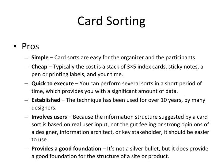 printing on 3x5 index cards information architecture tasks tools for web designers printing on 3x5 index cards