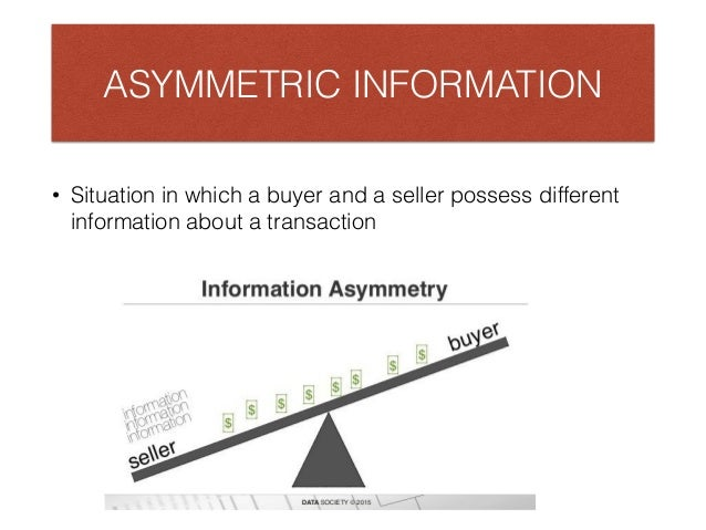 Information Asymmetry Nobel Prize-Winning Economic Theories Everyone Should Know