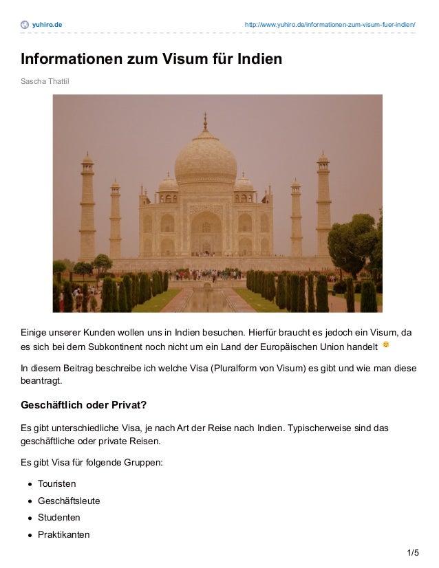 yuhiro.de http://www.yuhiro.de/informationen-zum-visum-fuer-indien/ Sascha Thattil Informationen zum Visum für Indien Eini...