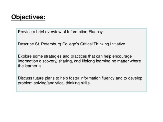 enhancing critical thinking ability through academic debate School of nursing, queensland university of technology  strategies for their  appropriateness to enhance critical thinking in nurses and  develop this skill is  involvement in debates, because the steps in a debate process comprise all of  the.