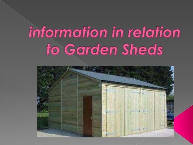 If you should be partial to gardening, then a shed is definitely a crucial accessory that ought to be compulsorily contain...