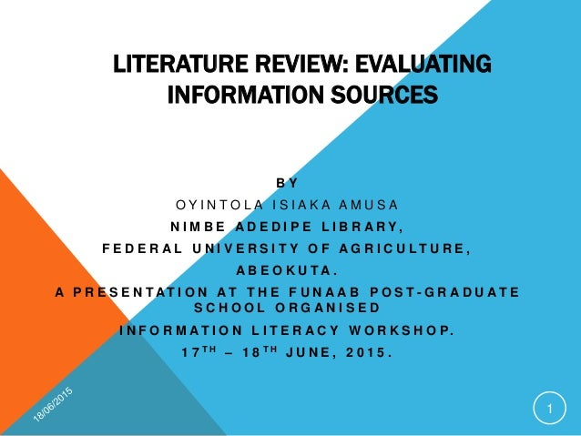 Evaluating elearning initiatives a literature review on methods and research