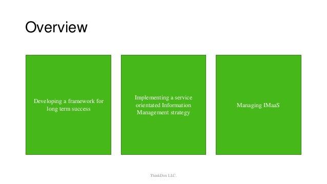 Information management as a Service Slide 2