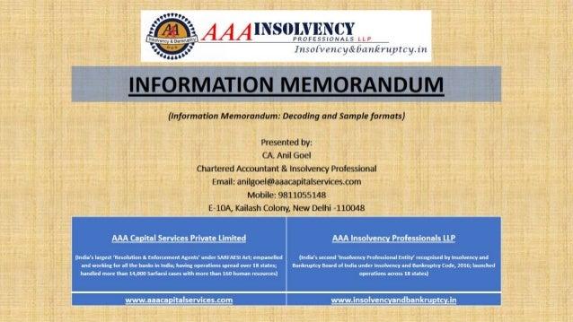 memorandum formats