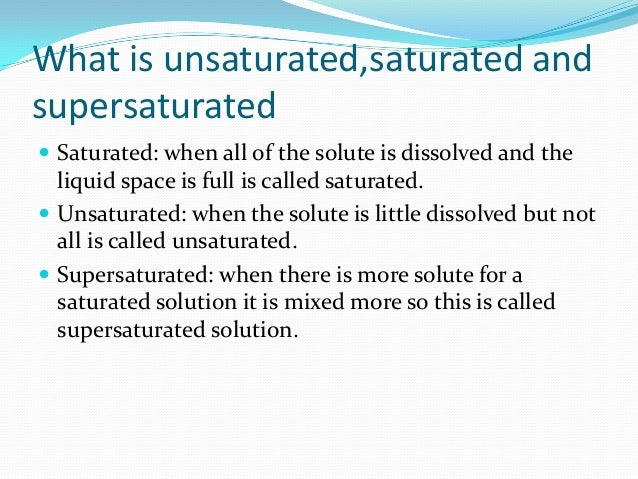 saturated solution - DriverLayer Search Engine