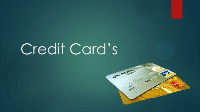 Credit Card's